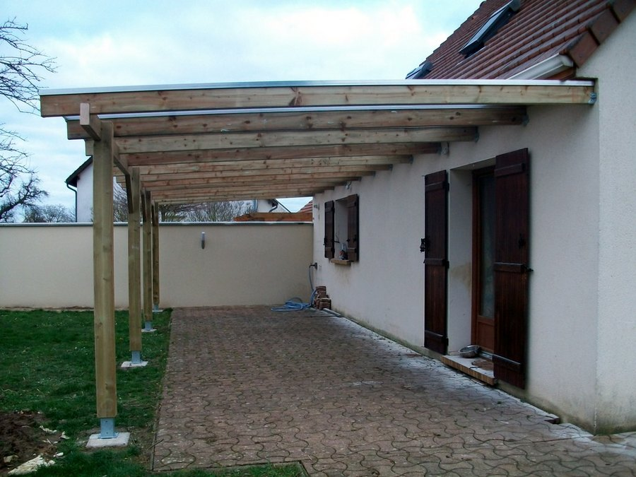 Pergola toiture polycarbonate for Pergola originale