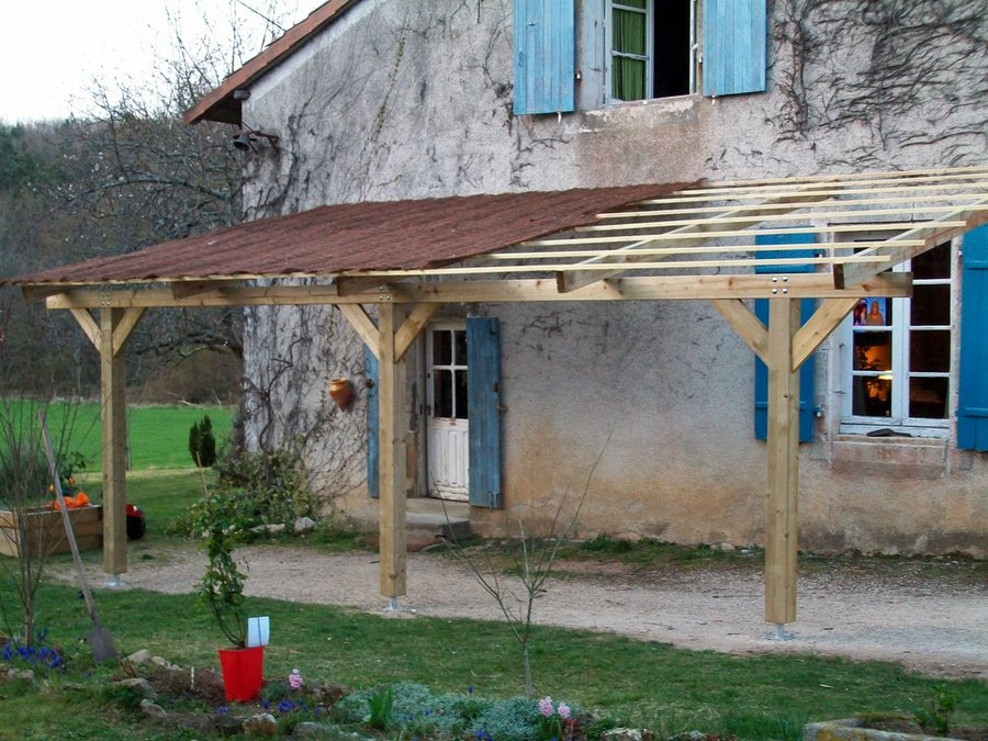 Couverture canisse pergola for Couverture pergola canisse